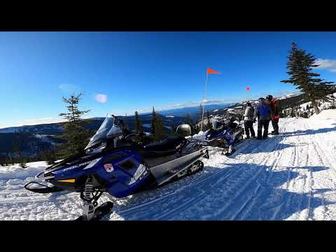 Priest River Valley snowmobiling