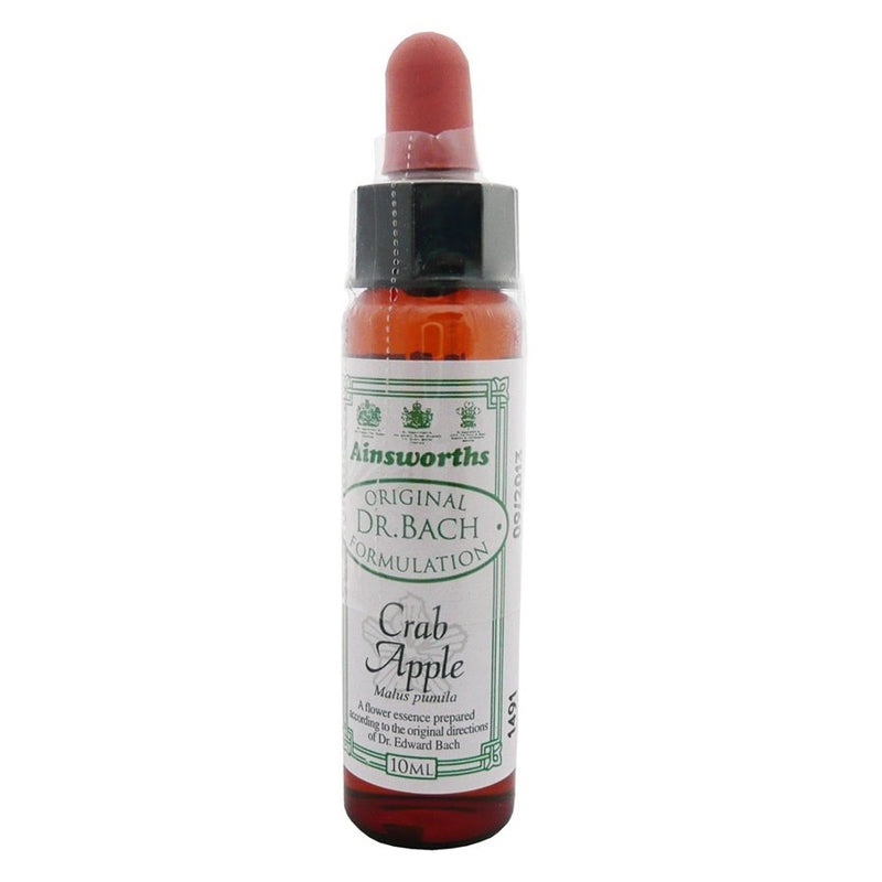 Ainsworths Crab Apple Bach Flower Remedy 10ml