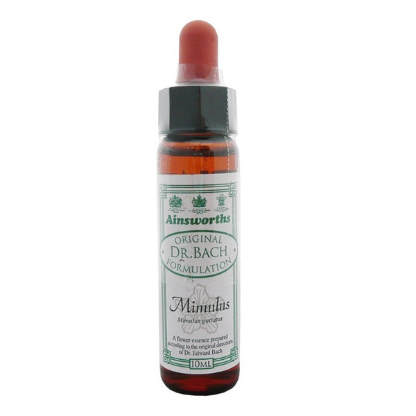 Ainsworths Mimulus Bach Flower Remedy 10ml