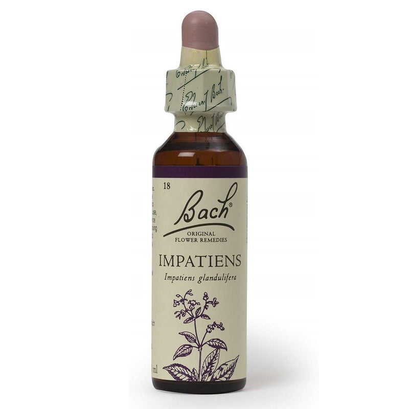 Bach Original Flower Remedies Impatiens 20ml