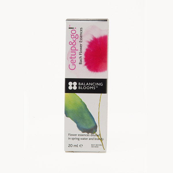 Balancing Blooms Getup & Go Bach Flower Essences 20ml