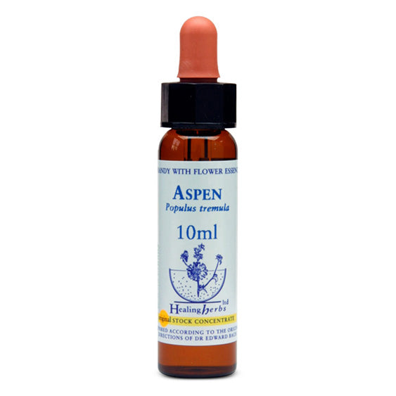 Healing Herbs Aspen Bach Flower Remedy 10ml