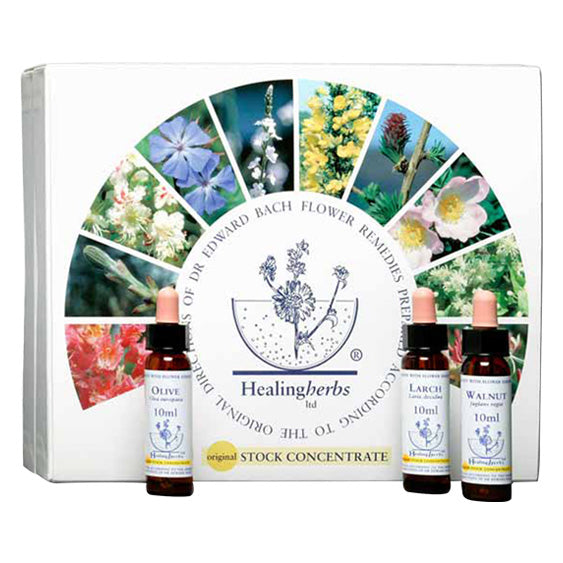 Healing Herbs Bach Flower Remedies Set