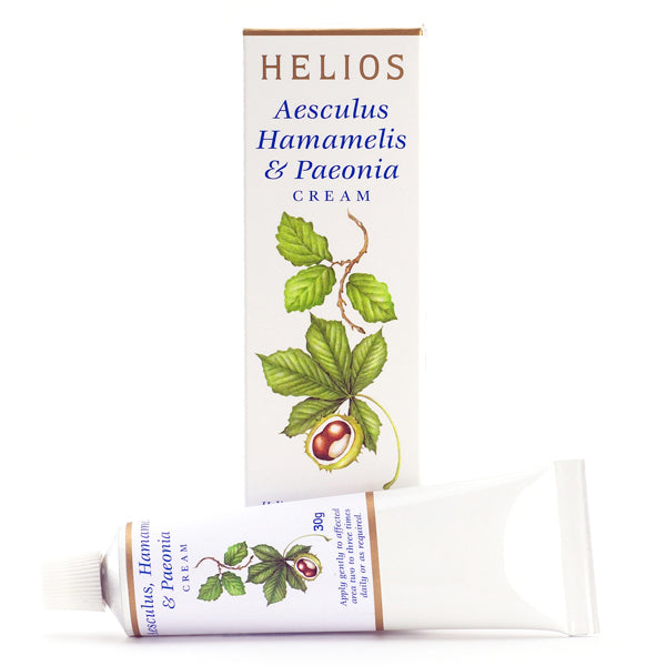 Helios Homeopathy Aesculus, Hamamelis and Paeonia Cream 30g