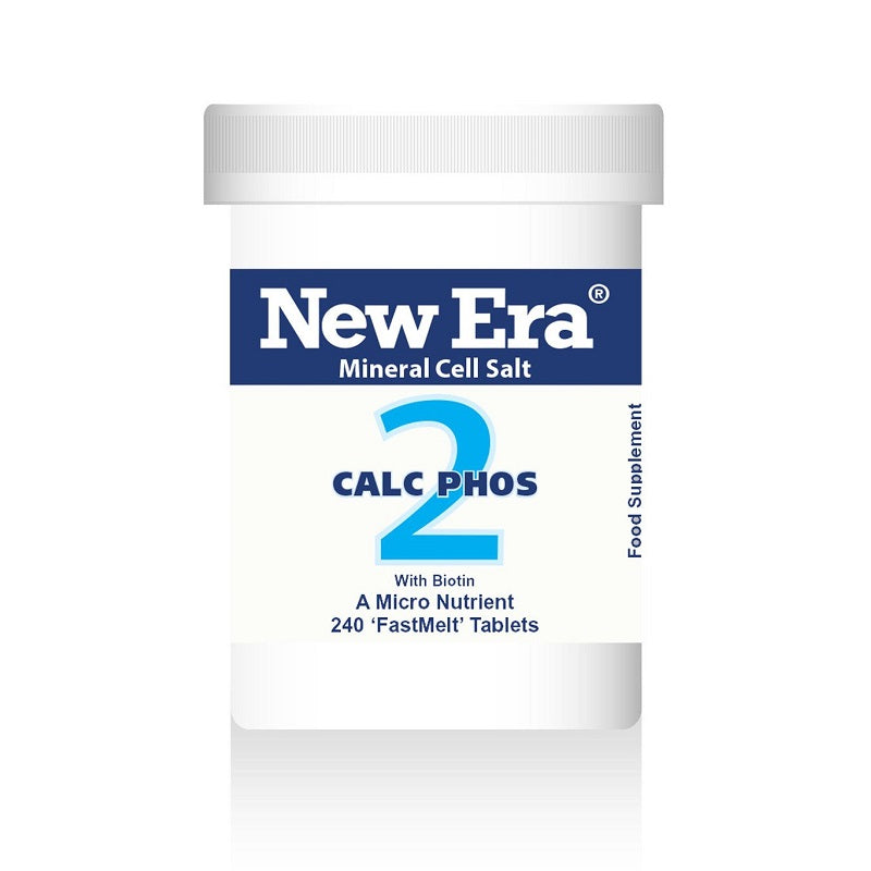 New Era Calc Phos (Calcium Phosphate) No. 2 240 Tablets