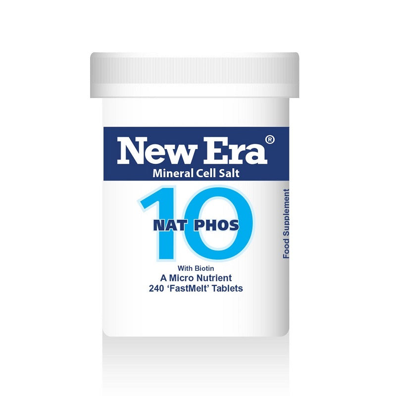 New Era No. 10 Nat Phos (Sodium Phosphate) 240 Tablets