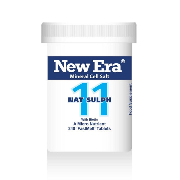 New Era No. 11 Nat Sulph (Sodium Sulphate) 240 Tablets