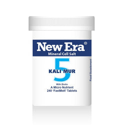 New Era No. 5 Kali Mur (Potassium Chloride) 240 Tablets