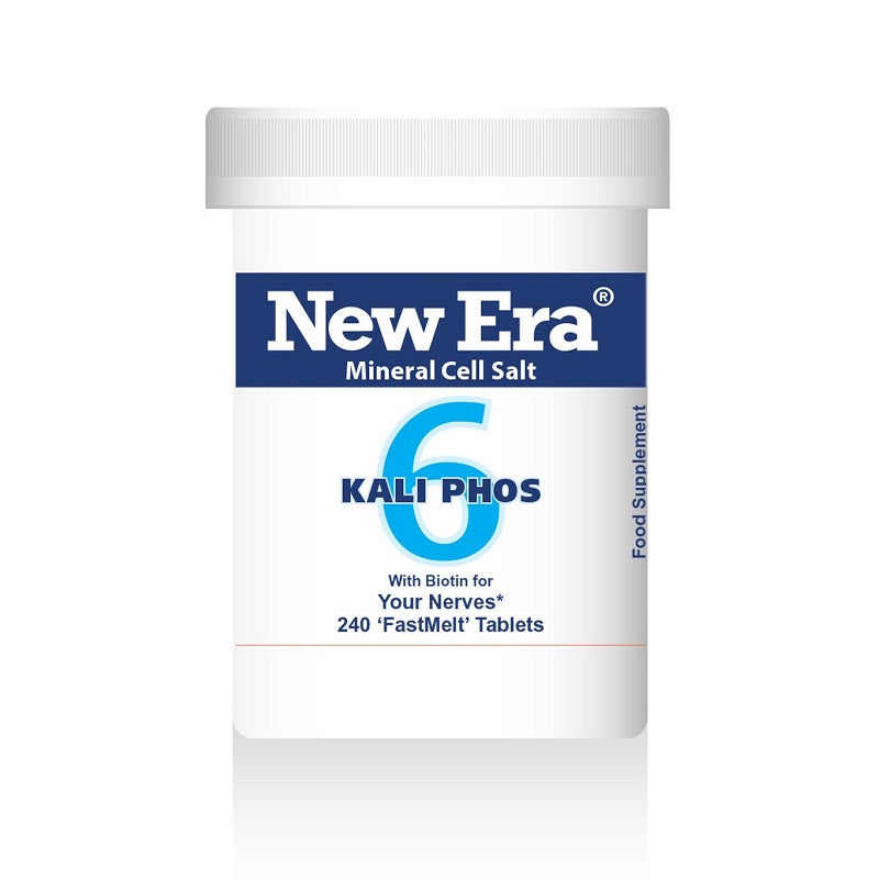 New Era No. 6 Kali Phos (Potassium Phosphate) 240 Tablets