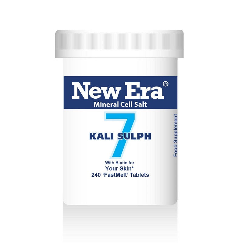 New Era No. 7 Kali Sulph (Potassium Sulphate) 240 Tablets