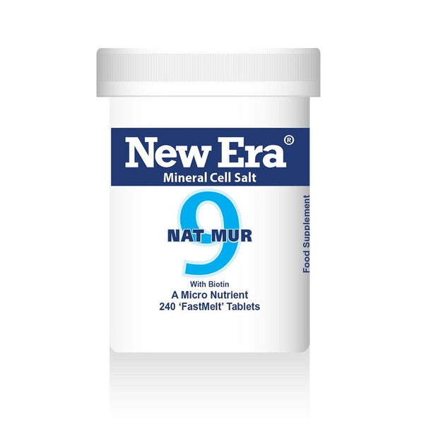 New Era No. 9 Nat Mur (Sodium Chloride) 240 Tablets