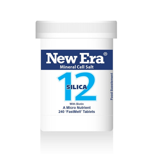 New Era No. 12 Silica (Silicon Dioxide) 240 Tablets