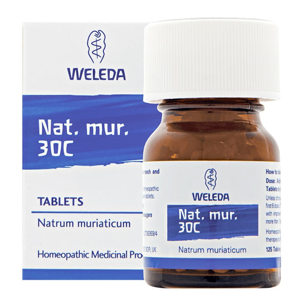 Weleda Nat Mur 30C 125 Tablets