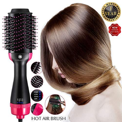 One Step Multifunctional Infrared Negative Ion Hair Dryer Straight Hair Curling Comb