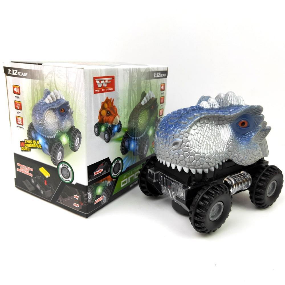 LED Dinosaur Car with Sound(😘Buy 1 Get 1 Free😘)