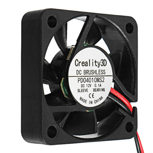 Creality 3D 40*40*10mm 12V DC Brushless 4010 Cooling Fan