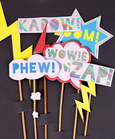 Zap! Party Toppers