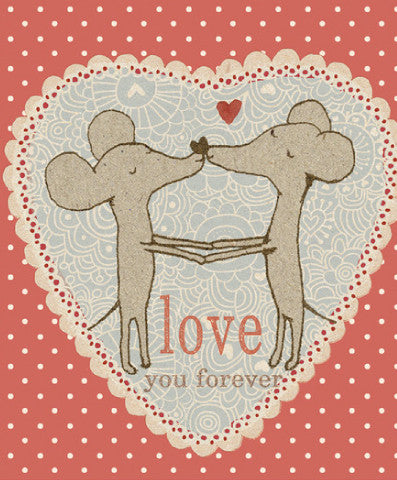 Maileg Mice in Love Card