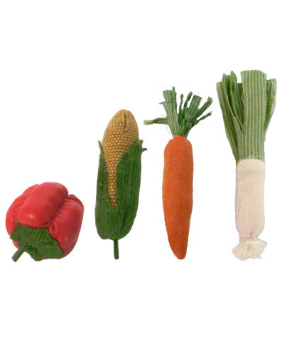 Maileg vegetables in a bag
