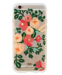 Peach Blossom Clear Case for iPhone 6 Plus