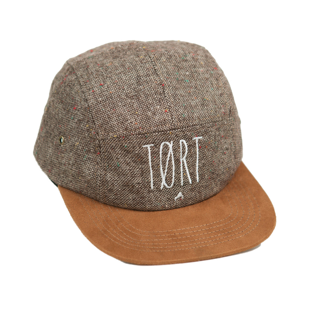 5 Panel Tweed hat
