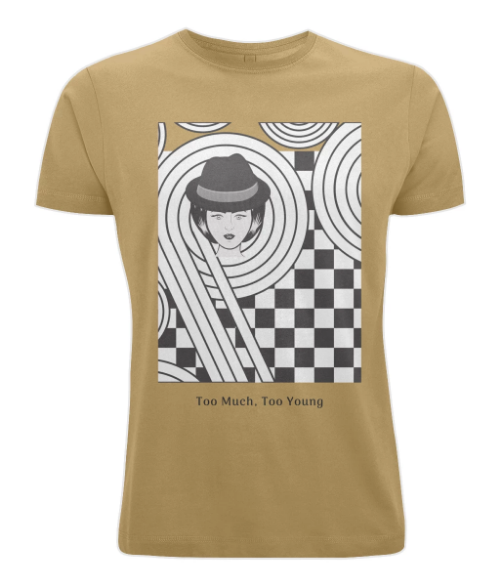 Men's 100% Cotton T-Shirt - SKA Too Much, Too Young