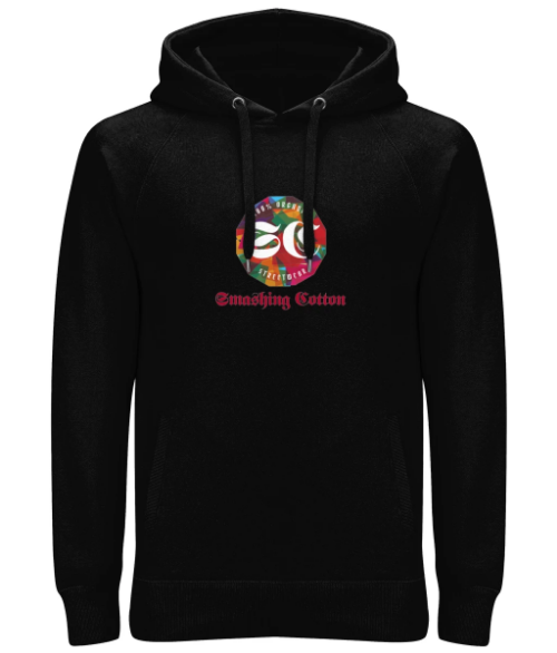Unisex Pullover Hoodie - Smashing Cotton Logo - 4 Colours available