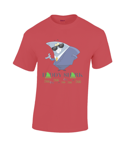 Gildan Heavy Cotton T-Shirt DADDY SHARK