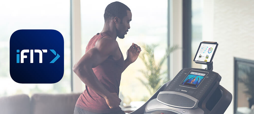 iFit treadmill workout