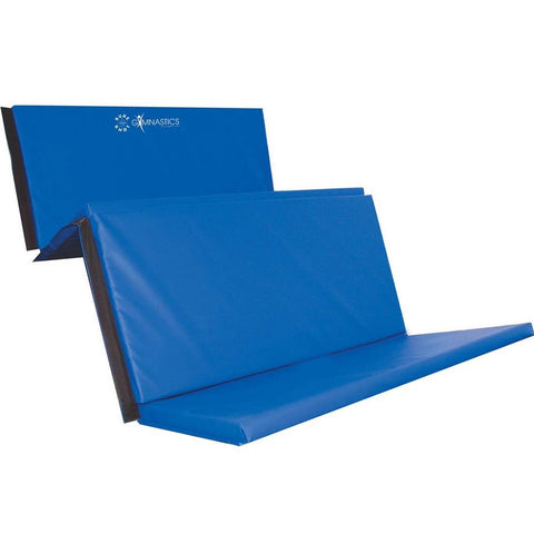 Sure Shot Foldable Gymnastics Mat (Blue) | 50mm Image McSport Ireland