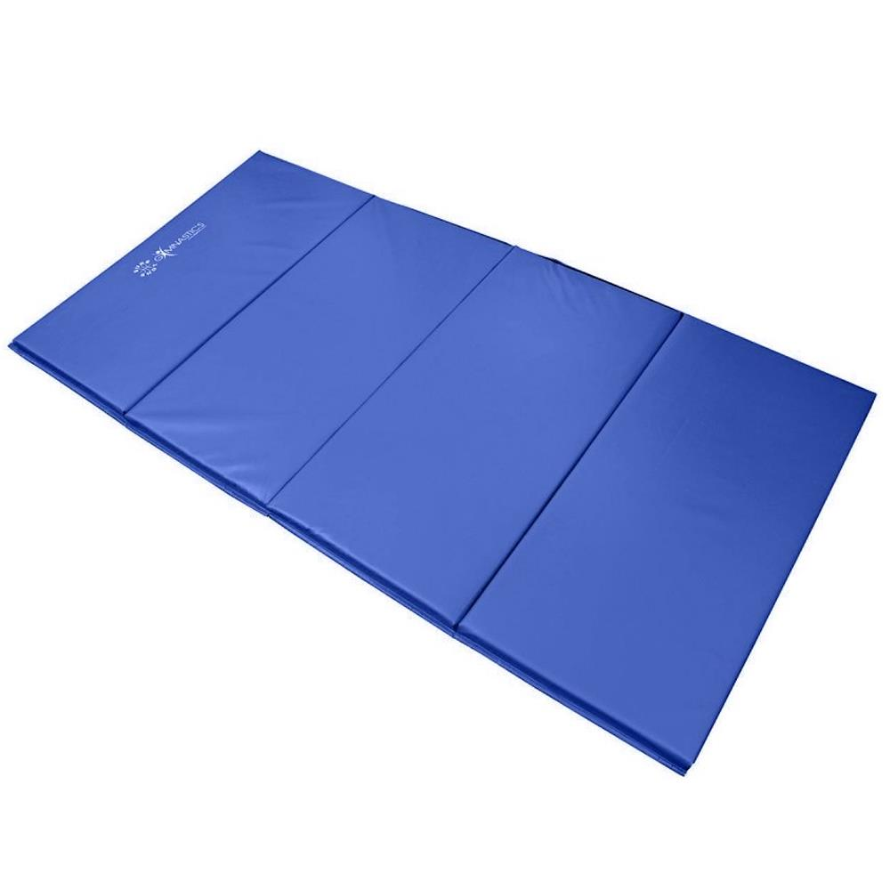 Sure Shot Foldable Gymnastics Mat (Blue) | 60mm Image McSport Ireland
