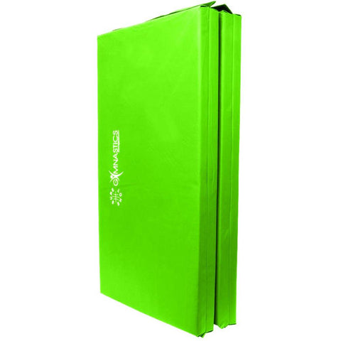 Sure Shot Foldable Gymnastics Mat (Lime Green) | 60mm Image McSport Ireland