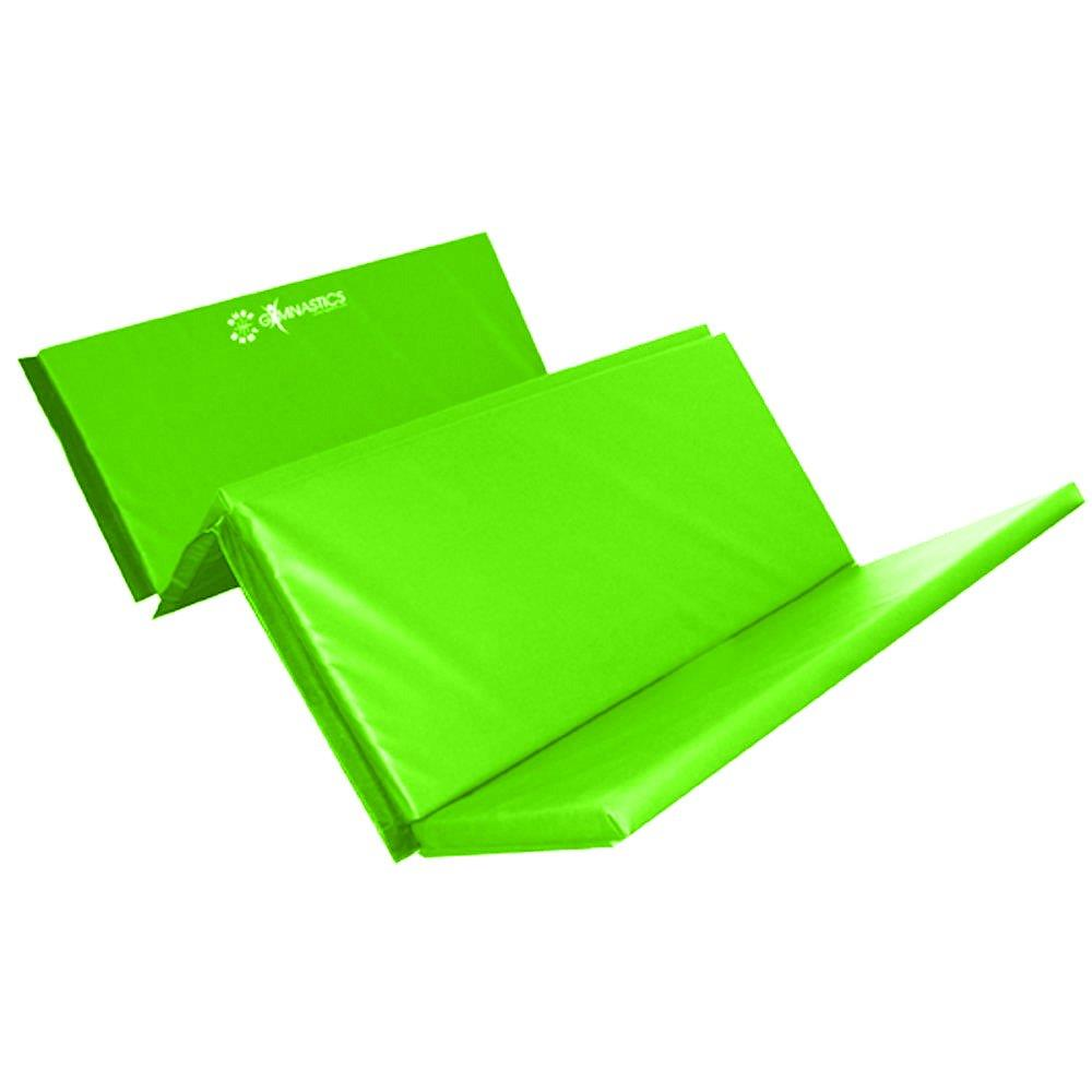 Sure Shot Foldable Gymnastics Mat (Lime Green) | 50mm Image McSport Ireland