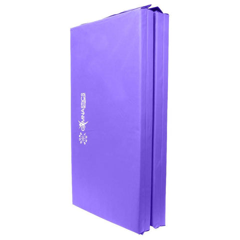 Sure Shot Foldable Gymnastics Mat (Purple) | 60mm Image McSport Ireland