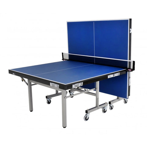 Butterfly National League 22 Rollaway Indoor Table Tennis Table | Blue Image McSport Ireland