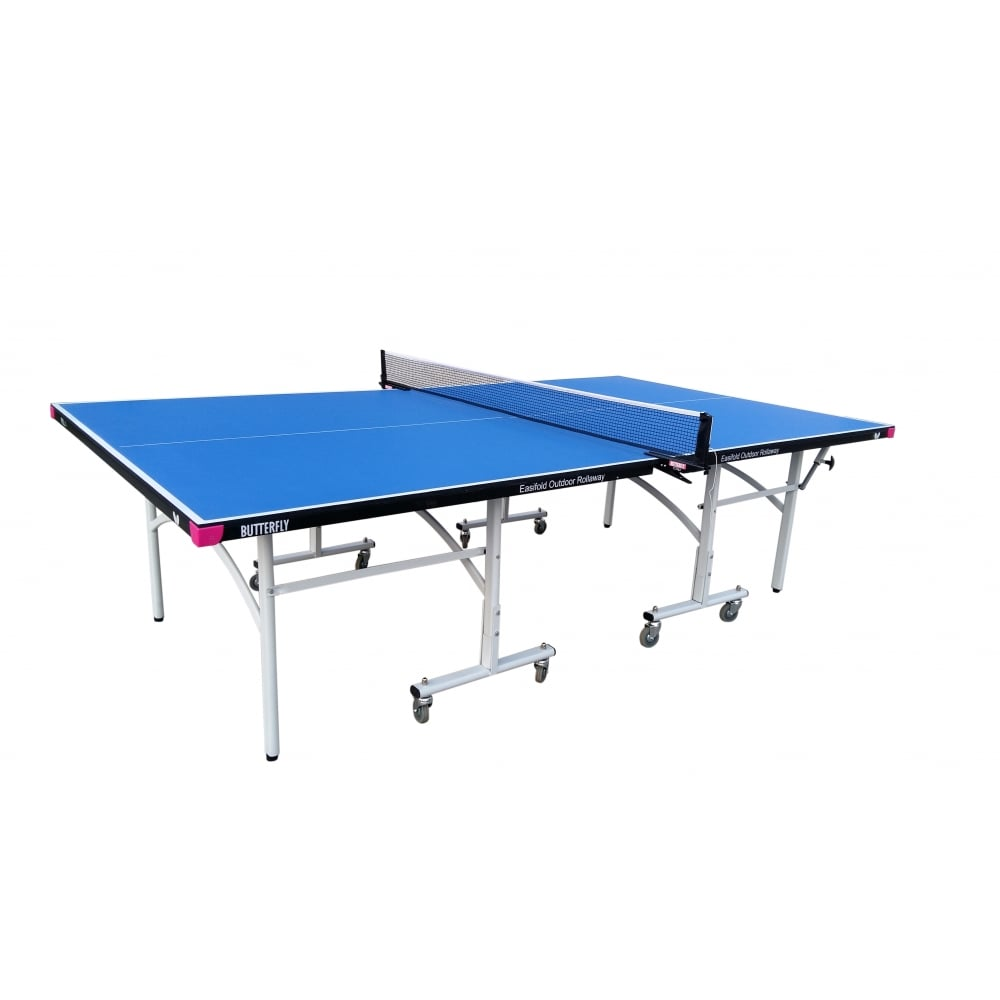 Butterfly 9ft Easifold Outdoor Table Tennis Table | Blue Image McSport Ireland
