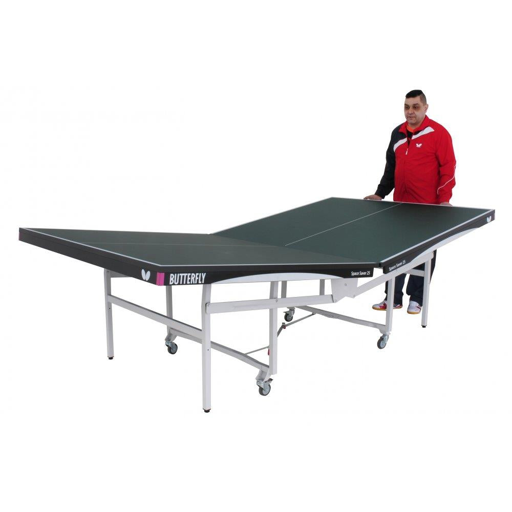 Butterfly Space Saver Rollaway 25 Indoor Table Tennis Table Image McSport Ireland