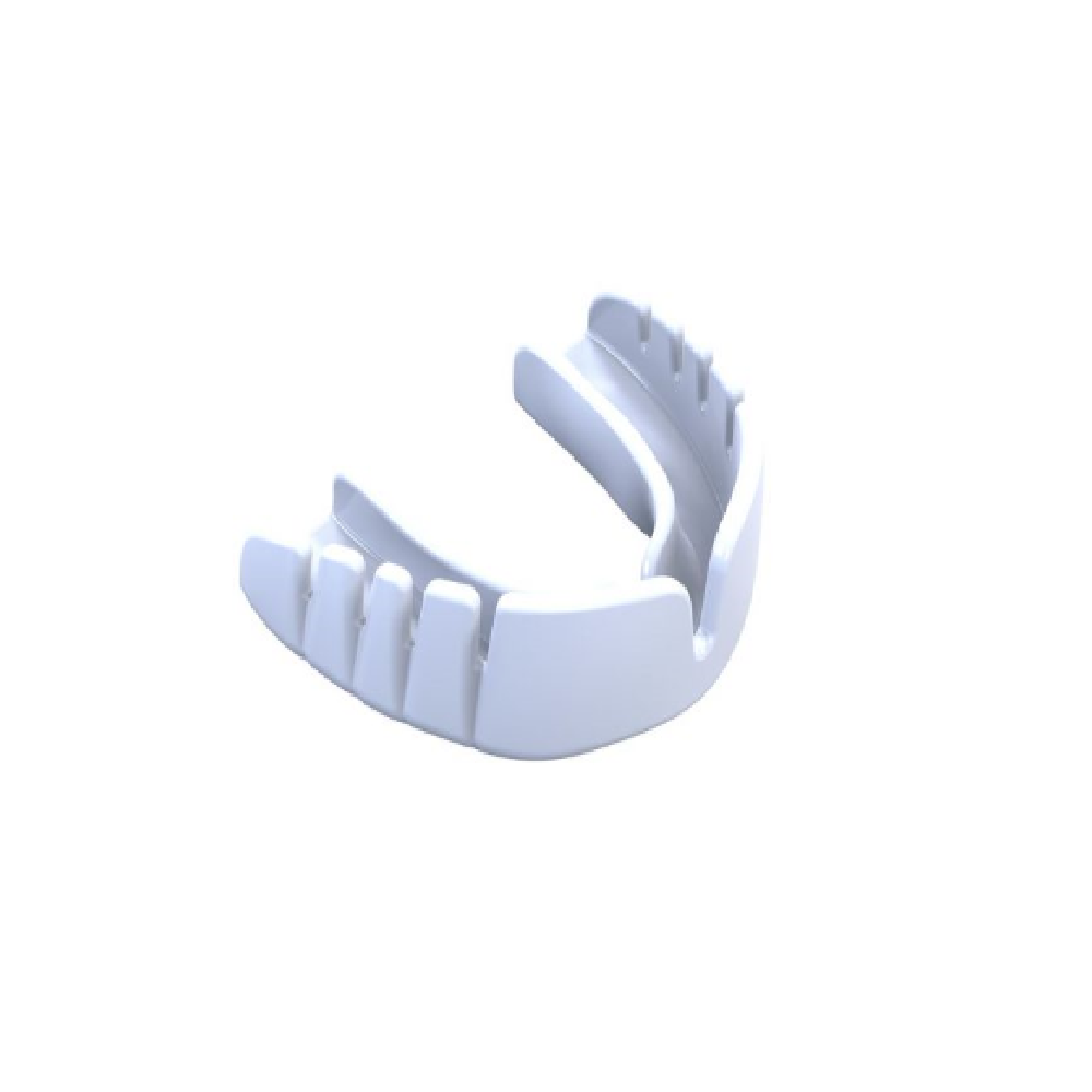 Opro Mouth Guard Snap-Fit Adult White Image McSport Ireland