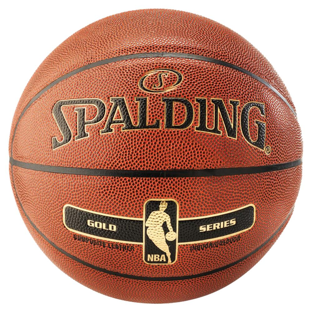 Spalding NBA Gold Indoor/Outdoor Basketball | Size 7 Image McSport Ireland