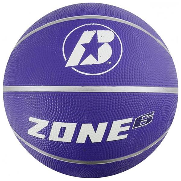 Baden Zone Rubber Coloured Basketballs (Purple) | Size 6 Image McSport Ireland