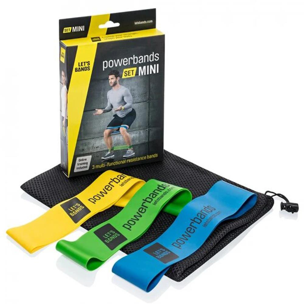 Lets Bands Power Bands | Mini Set Image McSport Ireland