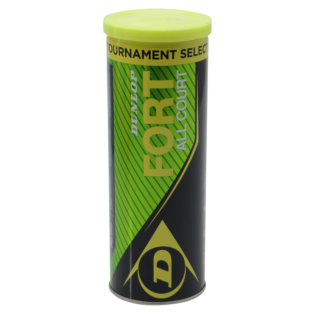 Dunlop Fort TS Tennis Balls (Tube of 3) Image McSport Ireland