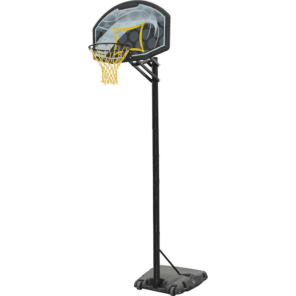 Portable Adjustable Basketball Unit with Backboard Image McSport Ireland