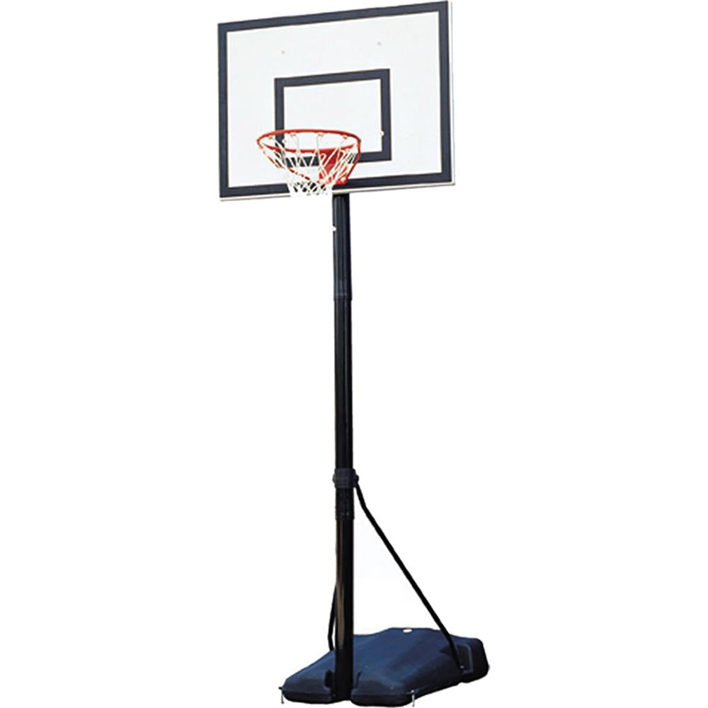 Sure Shot Heavy Duty Portable Adjustable Basketball Unit with Backboard Image McSport Ireland