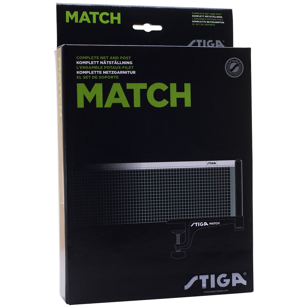 Stiga Match Table Tennis Net and Post