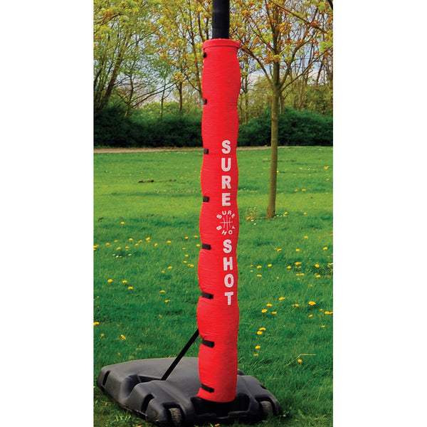 Sure Shot Basketball Portable Protective Indoor Pole Padding Image McSport Ireland