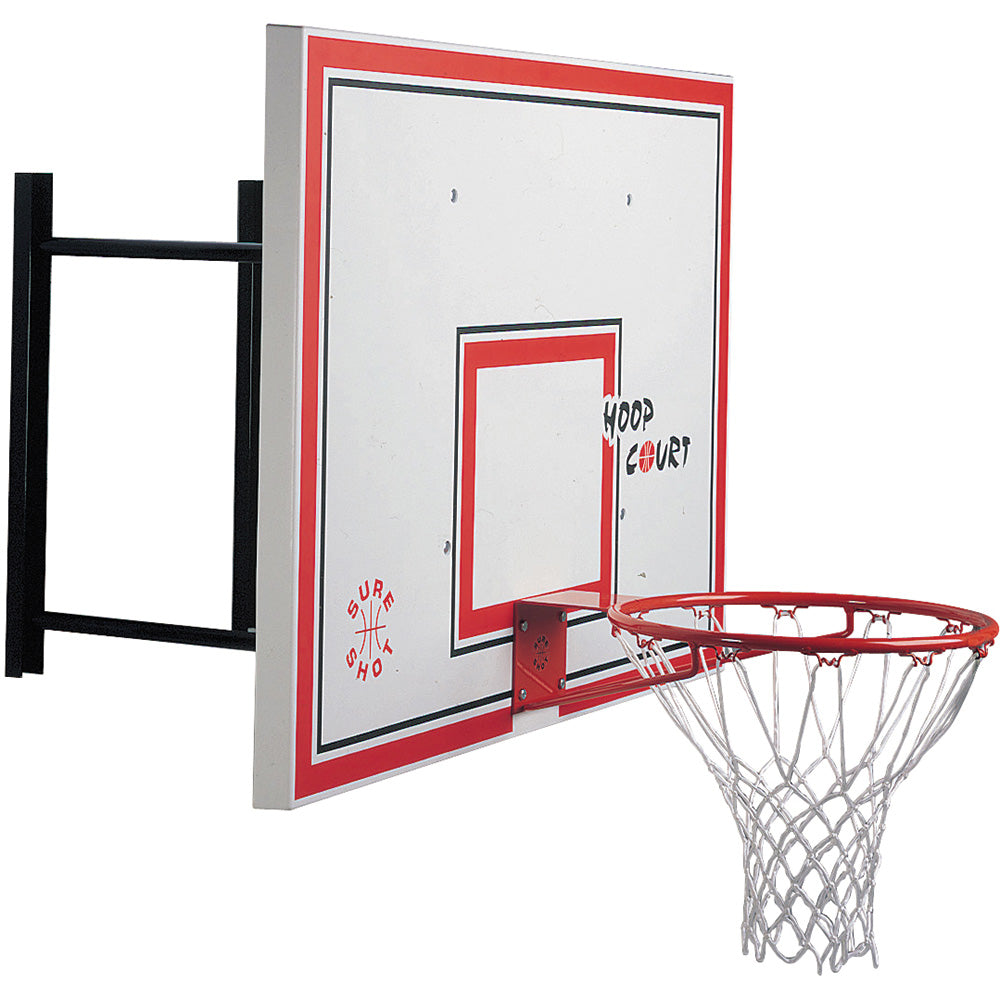 Sure Shot Basketball Wall Mounted Unit Image McSport Ireland