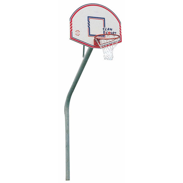 Sure Shot Slimline Gooseneck Inground Basketball Unit Image McSport Ireland
