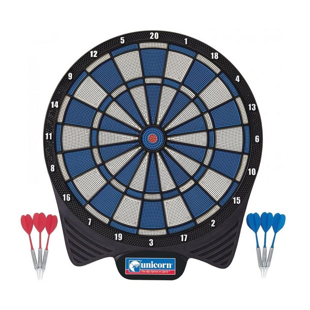Unicorn Soft Tip Dartboard with 2 Sets of Darts Image McSport Ireland