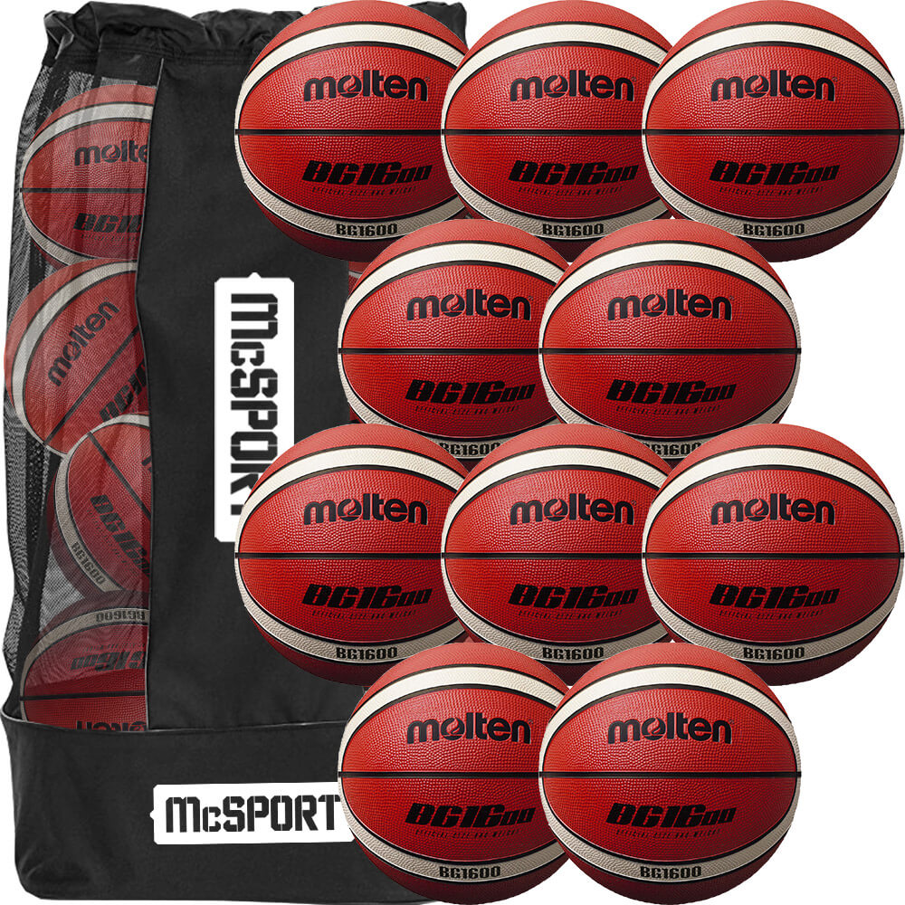 Molten BG1600 Indoor/Outdoor Rubber Ball - 10 Packs Image McSport Ireland